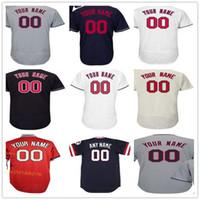 Wholesale womens orange shorts - Custom Cleveland Basebal Jerseys Any Name Any Number Ricky Vaughn Jose Ramirez Jim Thome Kluber Mens Womens Youth Jersey