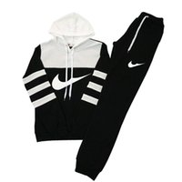 Wholesale velour tracksuit women - women casual sports hooded Sweatshirts + pants, wholesale and retail clothing female runners, hit color suit woman Sweatshirts Tracksuit