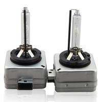 ampoules de phares d1 achat en gros de-100% Authentique d'Osram 1 PCS D1S phare de voiture de lampe d'ampoule de xenon pour toutes les voitures 4300k 5000K 5500K Avec la boîte