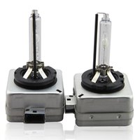xenon-scheinwerfer versteckte glühbirne großhandel-100% echt von Osram 1 STÜCKE D1S xenon lampe autoscheinwerfer für alle autos 4300 karat 5000 Karat 5500 Karat Mit box