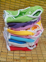 Wholesale Diaper Guard - free shipping (50pcs lot)baby cloth PUL diaper cover leak guard double gusset design