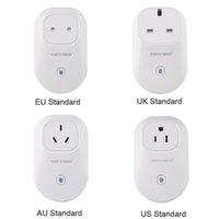 Wholesale 20pcs Orvibo EU US UK AU Standard Power Socket Wi Fi Smart Switch Travel Plug Socket Home Automation for iPhone Android phones hot new
