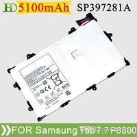 Wholesale Cheap Galaxy Batteries - Cheap Original Tab P6800 Battery 5100mAh For Samsung Galaxy Tab 7.7 P6800 P6810 SCH-I815 SP397281A(1S2P) 50pcs lot