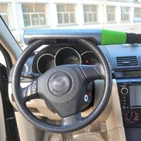 Wholesale Automobile Anti Theft - Universal Automobile Baseball Bat Style Anti-theft Car Steering Wheel Lock for Car Security Single Bayonet Stainless Steel 179296502