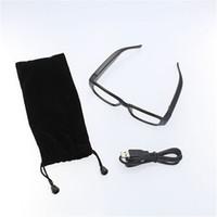 Wholesale Micro Video Recorders - 5pcs lot HD 720P Mini Spy Hidden Eyewear Glasses Camera DVR Video Recorder Micro Camera