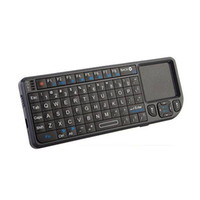 Fly Air Mouse UKB-100-RF 2.4GHz Wireless Keyboard Game Remote Control Touchpad Mini multifunções teclado Suporte do Windows Vista Linux etc.