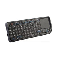 Fly Jeu Air Mouse UKB-100-RF 2.4GHz Wireless Remote Keyboard Clavier de contrôle Touchpad Mini multifonction Support de Windows Vista Linux etc.