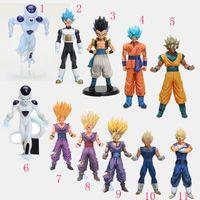 Wholesale Dragon Ball Z Kai Toys - 18-30cm Japan Anime Dragonball Dragon Ball Z Kai Gashapon Dolls Toys Action Figure SP-3 Frieza Freeza(Final Form) model toys