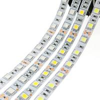 venta de casas al por mayor-Venta caliente 5M 300Leds impermeable RGB Led Strip Light 5630 3528 5050 DC12V 60Leds M Fiexble Light Led cinta de la cinta decoración del hogar lámpara