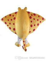 Wholesale Sea Mascot - SX0728 Light and easy to wear sea Skate ray fish mascot costume for adult to wear for sale