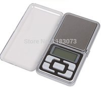 Wholesale Cell Phone Digital Scales - Jewelry Cell Phone Scales 500g 0.1g Mini Digital Pocket Kitchen Scale Electronic Weight Balance 100pcs lot Dropshipping