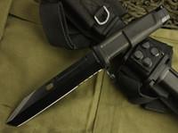 ingrosso lama a baionetta-EXTREMA RATIO Bayonet Black Shanker 8CR13MOV Lama 58HRC Maniglia campeggio outdoor gear EDC strumenti coltello spedizione gratuita
