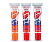 Wholesale lip tint peel off resale online - Romantic Long Lasting Lip Gloss Peel Off Liquid Lipstick Waterproof Lip Tint Makeup Lipgloss Cosmetics