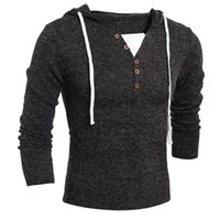 Wholesale Korean Winter Coats Sale - Wholesale-2016 New wild Men's Fall And Winter Clothes Coat Korean Self Fashion Knit Influx Of Men Hot Sale