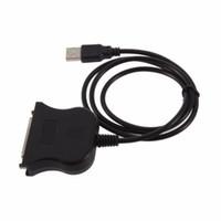 paralelos de área de trabalho venda por atacado-USB para 25 Pinos DB25 Paralelo IEEE 1284 Cabo de Impressora Cabo Adaptador Conversor