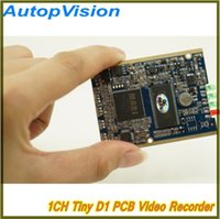 Wholesale Dvr Pcb - Real time 1CH Mini HD XBOX DVR PCB Board up to D1(704*576) 30fps support 32GB sd Card