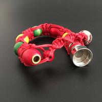 Wholesale Pro Bead - bracelet bead portable vaporizer smoking pipe for tobacco discreet sneak a toke click n vape g pro vaporizer