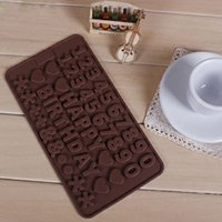 Wholesale Cake Number - Number Happy Birthday Symbol Cake Chocolate Mold Silicone Fondant Cake Decoration Form For Kitchen Accessories
