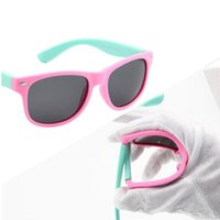 Wholesale Baby Sun Glasses Boy - Classic Infant Baby Kids Polarized Sunglasses Children Safety Coating Glasses Sun UV 400 Protection Fashion Shades oculos de sol
