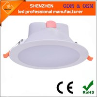 Novo design LED recesso teto Down Light Spot lâmpada Lâmpada AC 85-265V Indoor integrado levou Downlights