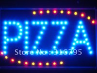 Gros-led008-b Pizza Shop OUVERT LED Neon Sign affaires Lumière