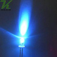 diodo led 5mm venda por atacado-1000 pcs 5mm roxo Rodada de Água Clara CONDUZIU a Lâmpada de Luz levou Diodos 5mm roxo uv lâmpadas led Frete Grátis