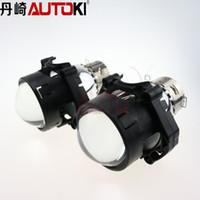 Wholesale Hid Xenon Light High Low - Free Shipping Car Dland Original Hella 6 HID Bi-Xenon Projector Lens High low Beam light