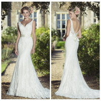 Kitty Chen Mermaid Brautkleider Band Backless Brautkleider Friesen Pailletten Customized Formal Wedding Dress 2016