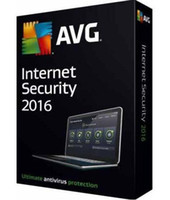 AVG Internet Security 2016 2015 Função completa para 2 anos 3 PCs hot anti-virus software