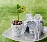 "Wholesale English Magic Bean - Love Magic Bean printed ""Love"" or ""I love U"" English Words Good for Wedding Favors with gift box Free shipping"