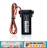 Wholesale Cheap Way Car Alarms - CAR GPS Tracker Global GPS Tracker Waterproof Built-in Battery GSM Mini for Car motorcycle cheap vehicle tracking device online software and