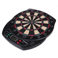 Wholesale Wholesale Dart Boards - 5Sets DHL Fedex Hot Electronic Dart Board With 6 Soft Tip For Spare,electronic Dart Score Board