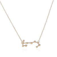 Wholesale Gold Scorpio Pendant - Hot Selling New Fashion Scorpio Zodiac Astrology Pendants Constellation Jewelry Astrology Star Sign Link Chain Collane Birthday Gift