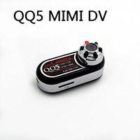 mini camera 12mp оптовых-QQ5 Мини-камера Full HD 1080P 720P Инфракрасная камера ночного видения DV Видеокамера 12-мегапиксельная веб-камера 170 широкоугольный