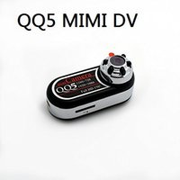 Wholesale Wide Angle Mini Cam - QQ5 Mini Camera Full HD 1080P 720P Infrared Night Vision DV Camera Camcorder 12MP Cam Webcam 170 Wide Angle Motion Detection