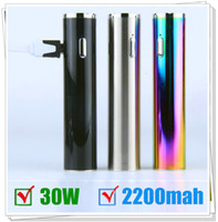 Wholesale Electronic Cigarette Pen Mod - Authentic Vape body Mod Machanical MOD TVR 30W box mods TVR 30 USB passthrough Electronic Cigarette 2200mah battery 30wattage Vape pen