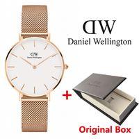 Wholesale new girls - 2018 New Fashion Girls Steel strip Daniel watches 32mm women watches Luxury Brand Quartz Watch Feminino Montre Femme Relogio Wristwatches