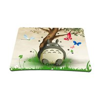 Wholesale New Totoro Picture Anti Slip Laptop PC Mice Pad Mat Mousepad Games Rubber Mouse Pad For Optical Laser Mouse