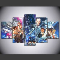 Wholesale Diy Canvas Painting Set - 5 Pcs Set No Framed HD Printed Hot movie game canvas Painting on canvas room decoration print poster picture canvas diy painting