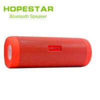 Wholesale portable speakers for mobiles resale online - HOPESTAR Wireless Bluetooth Speaker Waterproof Portable Outdoor Mini Column Box Loudspeaker Speaker Flashlight For Galaxy S8 IPhone