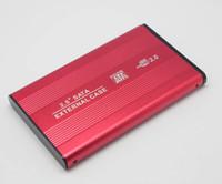 dizüstü bilgisayar sabit diskleri toptan satış-2.5 '' HDD SATA Sabit Disk Disk harici Kutu Muhafaza destek USB2.0 USB1.1 dizüstü PC bilgisayar Laptop için perakende paketi ile MACBOOK PRO
