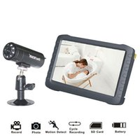 """Wholesale Tft Lcd Security Monitor - 5"""" TFT Digital 2.4G Wireless Camera Audio Video Baby Monitor 8CH DVR Security System with IR Night Cam Motion Detect"""