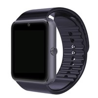 Wholesale Tf Card Order - 5000 order ! [Genuine] GT08 Smart Watch Clock Sync Notifier Support Sim TF Card Bluetooth smartwatch For Apple Android Phone