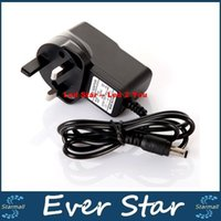 Wholesale Power Adapter Ac Dc Cctv - Led Strips Lights AC 100-240V to DC 12V 1A UK AU Plug AC DC Power Adapter Charger CCTV Power Supply Adapter