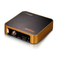 Wholesale Iptv One - One piece HOT sale Tiger Z400 pro Mini HD DVB S2 Satellite Receiver Arabia IPTV Box