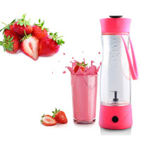 Plastic CE / EU Eco-Friendly Electric Juice Cup Lemon cup Mini Portable fruit&vegetable Blender with USB charger Fresh fruit Carry cup Gifts water bottles 010267