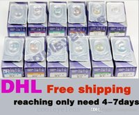 Wholesale Eye Lenses Cases - 3 Tones Free get 16pcs+case Real 13 colors fresh colorblend only need 4-6 days 150pcs =75pairs Contact lenses Color Contact colors EYE