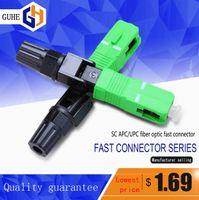 Wholesale Upc Apc - FTTH SC APC UPC fiber optic fast connector Optic Fiber Quick Connector Embedded Single Mode
