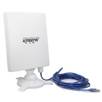 Wholesale WiFi Adapter Kasens KS N9600 MW dBi Panel Antenna Mbps USB Wireless Adapter Waterproof M GHz b g n Newest