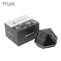 Wholesale play tracks - 2016 D8 Brand Mini Portable Touch Button Speaker Bluetooth FM Radio Speaker Playing Time 6H Wireless Super Bass Loudspeaker <$18 no tracking